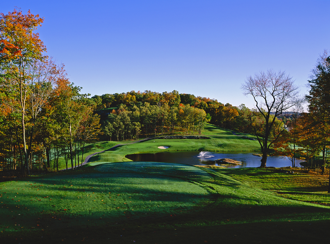Centennial Golf Club in Carmel, New York, is pictured in the fall