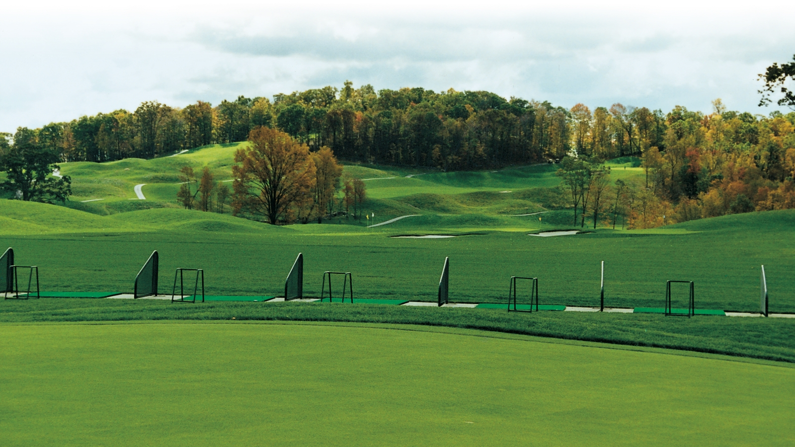The driving range at Centennial Golf Club in Carmel, NY